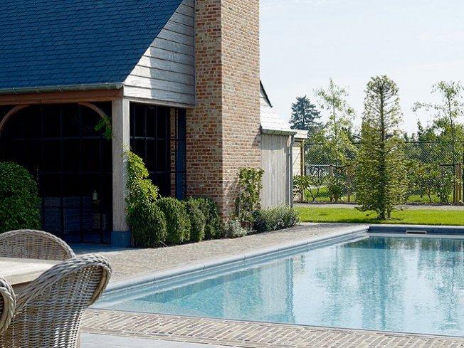 Zwembad moza ek grijs relaxzwembaden - Zwembad betegeld grijs ...