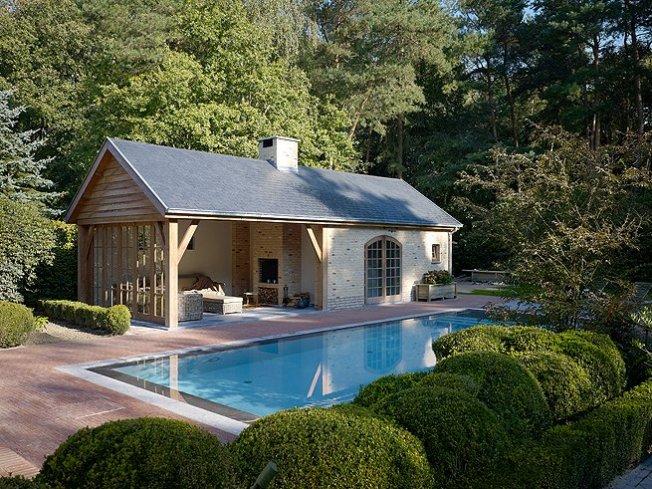 Poolhouse-zwembad