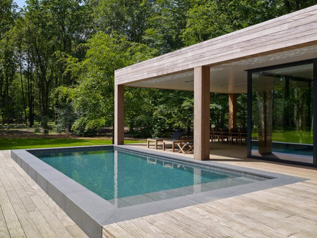 Relaxbank moza ek relaxzwembaden - Zwembad betegeld grijs ...
